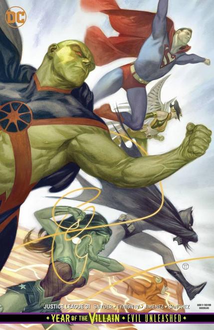 DC Justice League #31 Comic Book [Tedesco Variant Cover]