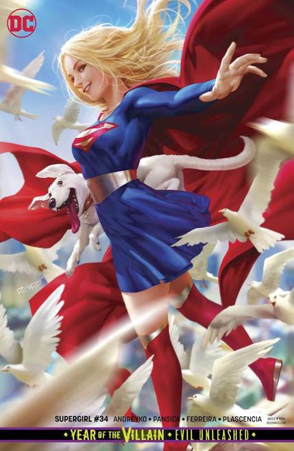 DC Supergirl #34 Comic Book [Derrick Chew Variant Cover]