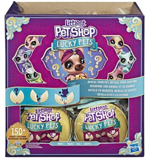 Littlest Pet Shop Lucky Pets Wave 1 Mystery Box [Fortune Cookie, 24 Packs]