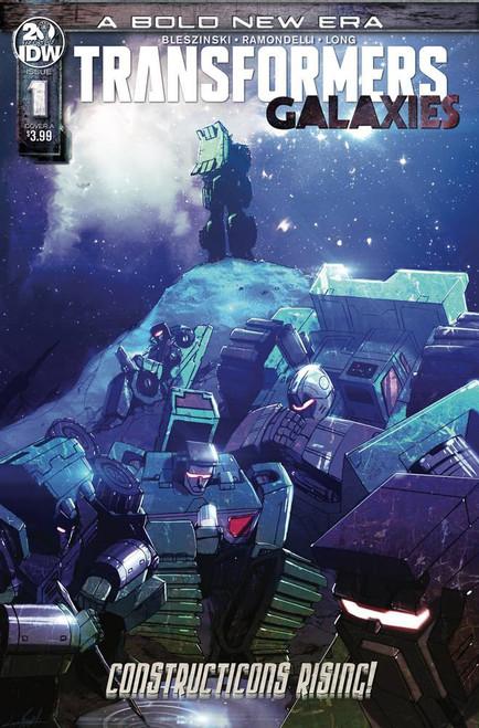 IDW Transformers Galaxies #1 Comic Book