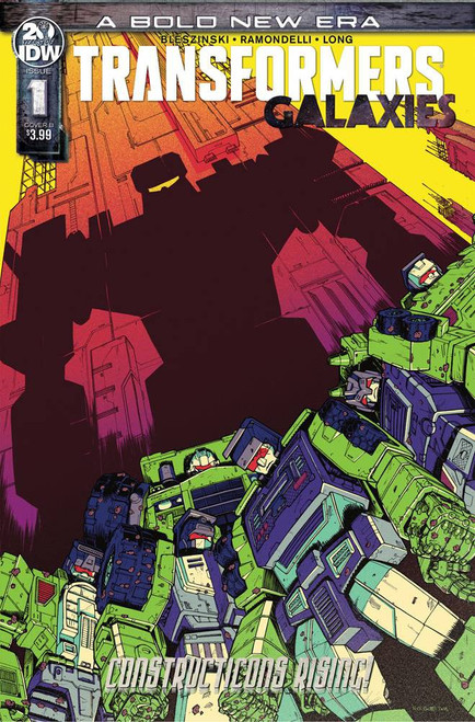 IDW Transformers Galaxies #1 Comic Book [Nick Roche Cover B]