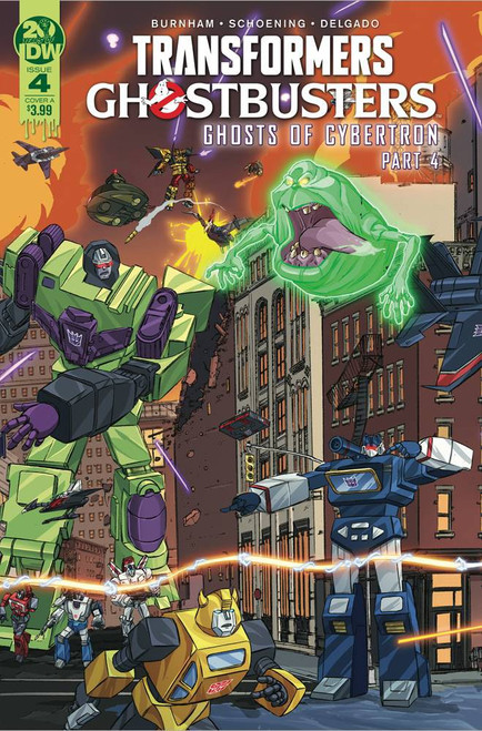 IDW Transformers & Ghostbusters #4 of 5 Comic Book