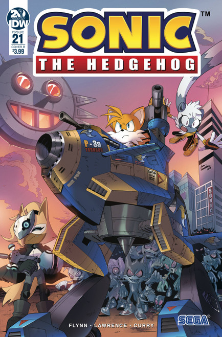 IDW Sonic The Hedgehog #21 Comic Book [Jamal Peppers Cover B]