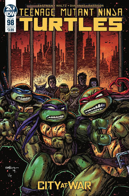 IDW Teenage Mutant Ninja Turtles Ongoing #98 Comic Book [Kevin Eastman Cover B]