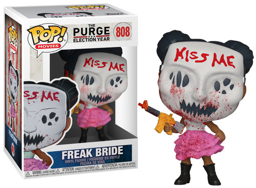 Funko The Purge Election Year POP! Movies Freakbride Vinyl Figure #808