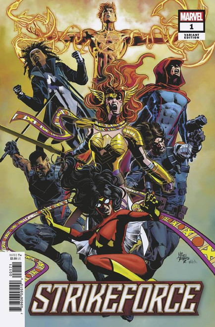 Marvel Comics Strikeforce #1 Comic Book [Mike Deodato Variant Cover]