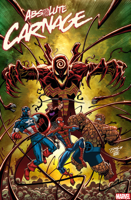 Marvel Comics Absolute Carnage #3 Comic Book [Ron Lim Variant Cover]