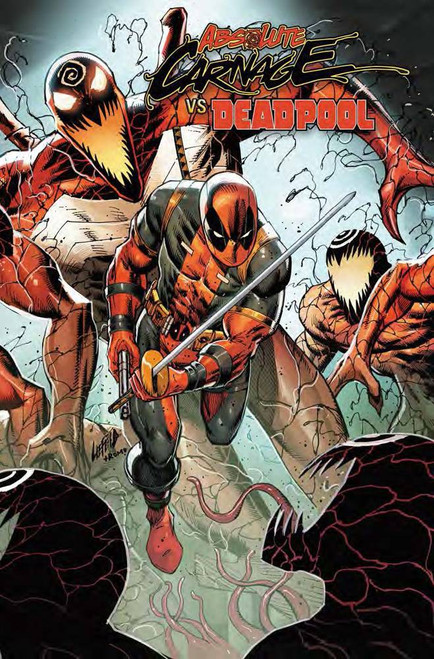 Marvel Comics Absolute Carnage Vs. Deadpool #2 of 3 Comic Book [Rob Liefeld Connecting Variant Cover]