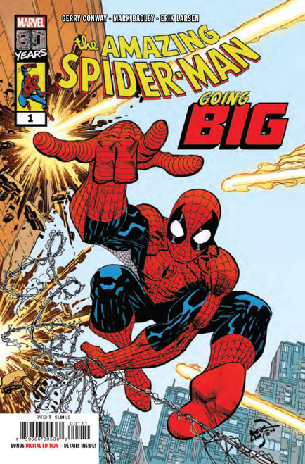 Marvel Comics Amazing Spider-Man Going Big #1 Comic Book