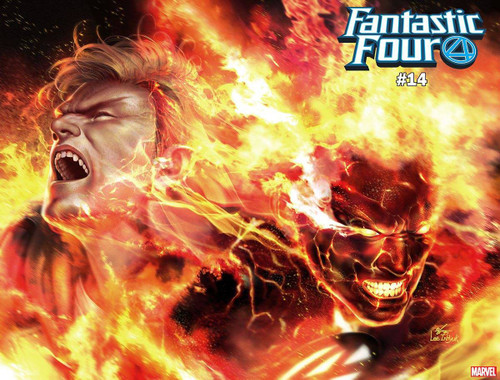 Marvel Comics Fantastic Four #14 Comic Book [Human Torch Immortal Variant Cover]