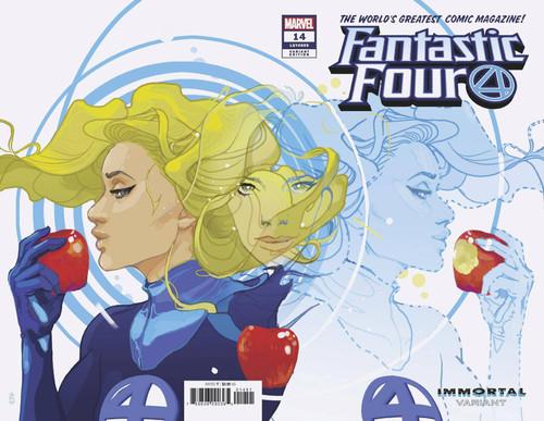 Marvel Comics Fantastic Four #14 Comic Book [Invisable Woman Immortal Variant Cover]