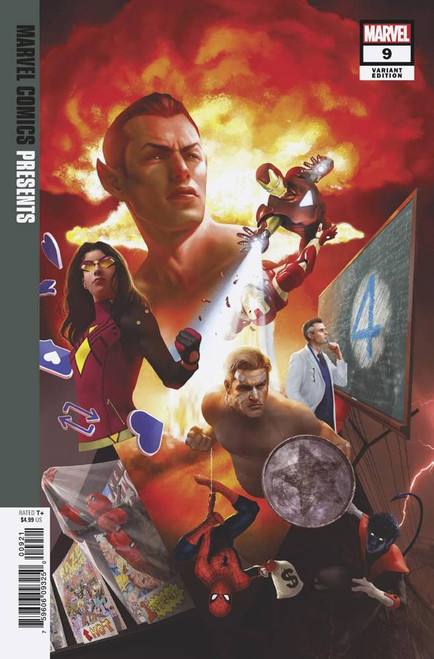 Marvel Comics Presents #9 Comic Book [Rahzzah Variant Cover]
