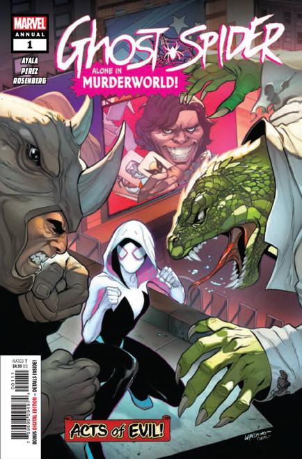 Marvel Comics Ghost-Spider Annual #1 Comic Book