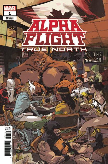 Marvel Comics Alpha Flight True North #1 Comic Book [Ramon K. Perez Variant Cover]