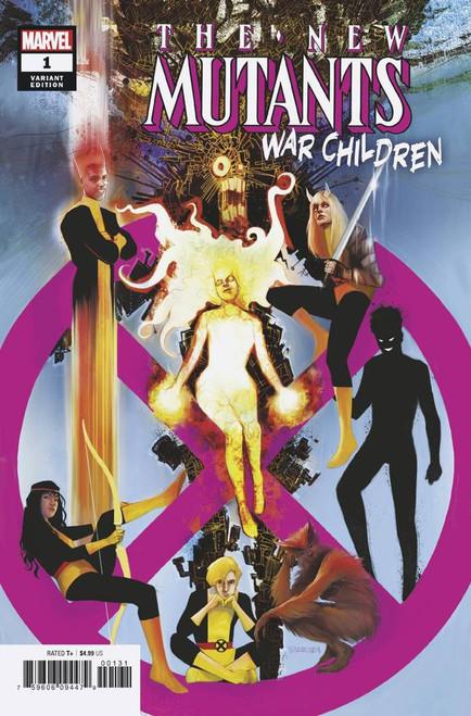 Marvel Comics The New Mutants #1 War Children Comic Book [Martin Simmonds Variant Cover]