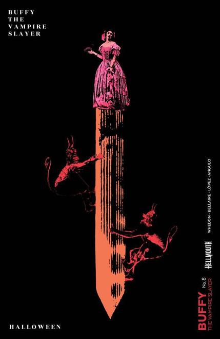 Boom Studios Buffy The Vampire Slayer #8 Comic Book [Becca Carey Cover D]