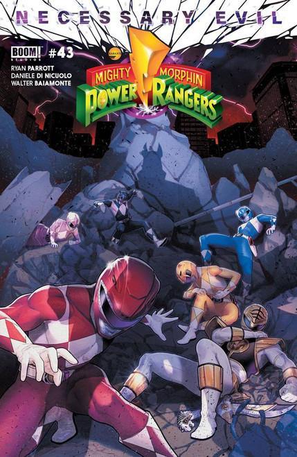 Boom Studios Mighty Morphin Power Rangers #43 Necessary Evil Comic Book