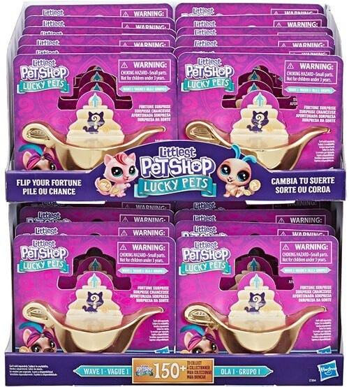 Littlest Pet Shop Lucky Pets Wave 1 Fortune Surprise Mystery Box [Genie Lamp, 24 Packs]