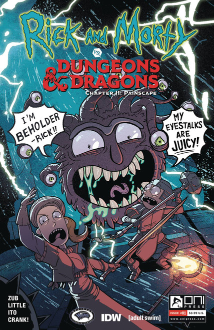 Oni Press Rick & Morty Vs. Dungeons & Dragons II #1 Comic Book [Jim Zub Cover B]