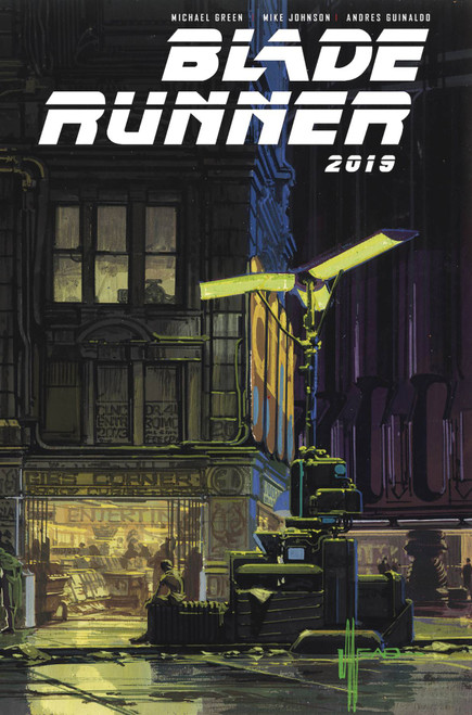 Titan Comics Blade Runner 2019 #3 Comic Book [Syd Mead Cover B]