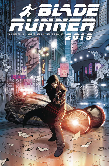 Titan Comics Blade Runner 2019 #3 Comic Book [Andres Guinaldo Cover C]