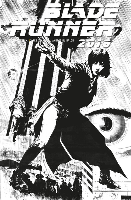 Titan Comics Blade Runner 2019 #3 Comic Book [Christian Ward Black & White Cover D]