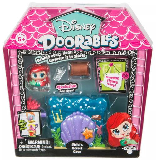 Disney Doorables Ariel's Secret Cove Mini Display Set [Exclusive Ariel Figure]