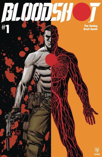 Valiant Comics Bloodshot #1 Comic Book [Dave Johnson Cover B]