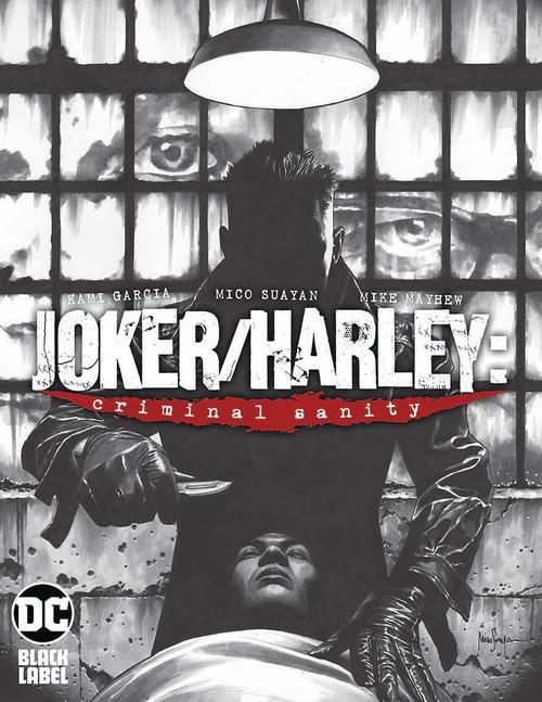 DC Black Label Joker & Harley Criminal Sanity #1 of 9 Comic Book [Mico Suayan Variant Cover]