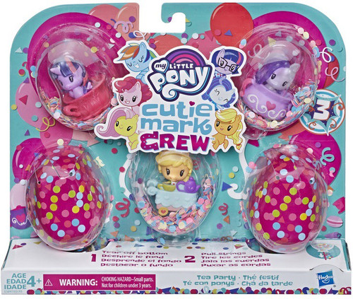 My Little Pony Cutie Mark Crew Series 3 Tea Party Mini Figure 5-Pack