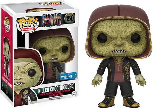 Funko Suicide Squad POP! Movies Killer Croc (Hooded) Exclusive Vinyl Figure #150 [Damaged Package]