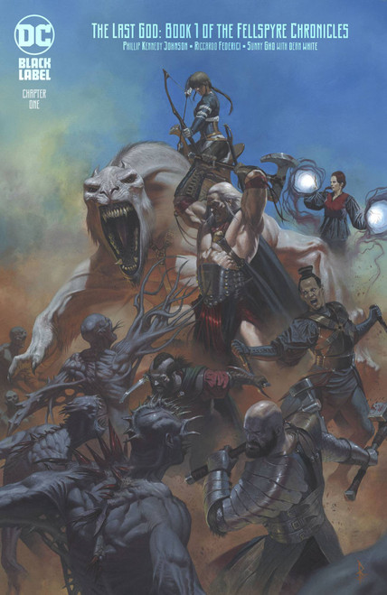 DC Black Label The Last God #1 Comic Book [Ricardo Federici Variant Cover]