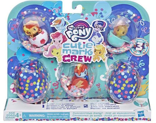 My Little Pony Cutie Mark Crew Series 3 Championship Party Mini Figure 5-Pack