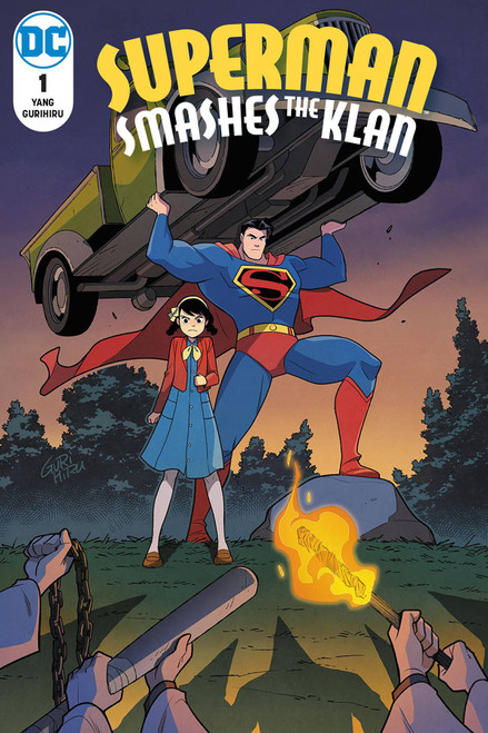 DC Superman Smashes the Klan #1 of 3 Comic Book