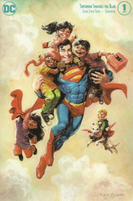 DC Superman Smashes the Klan #1 of 3 Comic Book [Kyle Baker Variant Cover]