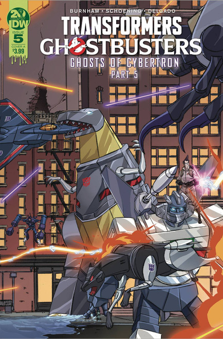 IDW Transformers & Ghostbusters #5 of 5 Comic Book