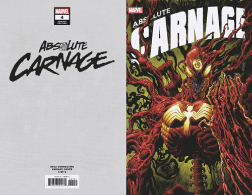 Marvel Comics Absolute Carnage #4 Comic Book [Hotz Connecting Variant Cover]