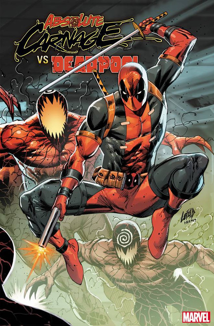 Marvel Comics Absolute Carnage Vs. Deadpool #3 of 3 Comic Book [Connecting Variant Cover]