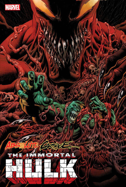 Marvel Comics Absolute Carnage Immortal Hulk #1 Comic Book