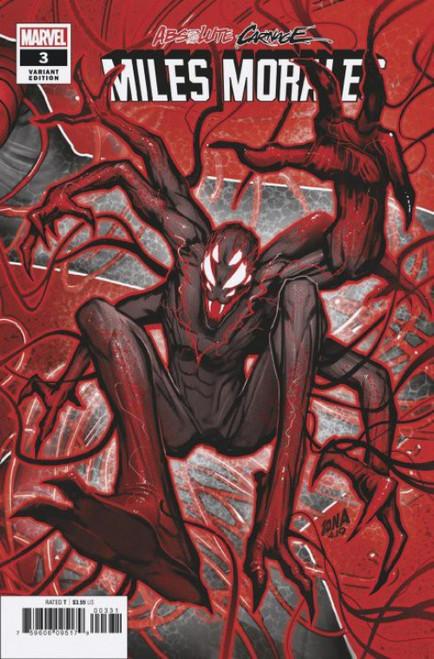 Marvel Comics Absolute Carnage Miles Morales #3 Comic Book [David Nakayama Connecting Variant Cover]