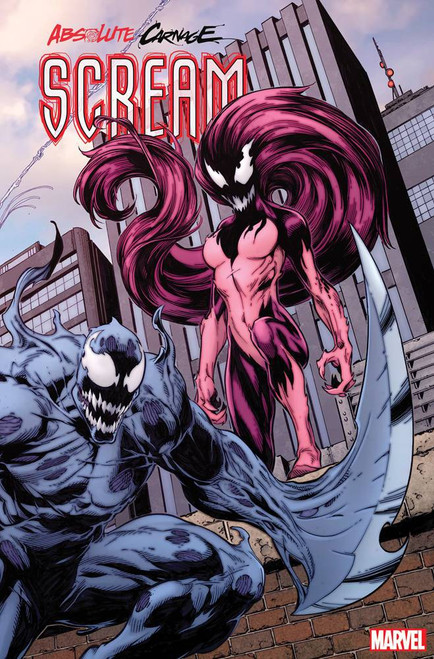 Marvel Comics Absolute Carnage Scream #3 Comic Book [Mark Bagley Connecting Variant Cover]
