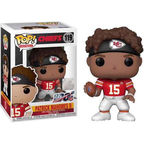 Funko NFL Kansas City Chiefs POP! Sports Football Patrick Mahomes II Vinyl Figure #119 [Red Jersey]