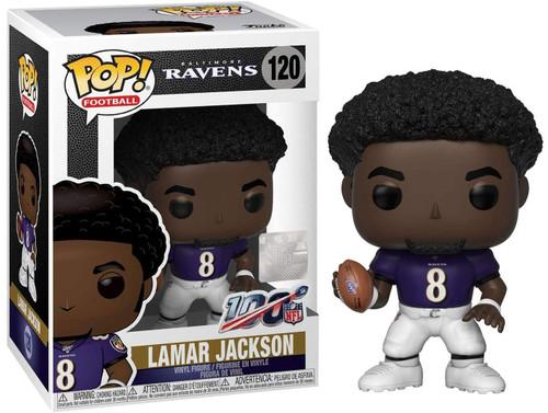 Funko NFL Baltimore Ravens POP! Sports Football Lamar Jackson Vinyl Figure #120 [Purple Jersey]