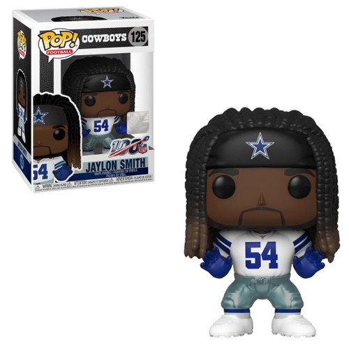 Funko NFL Dallas Cowboys POP! Sports Football Jaylon Smith Vinyl Figure #125