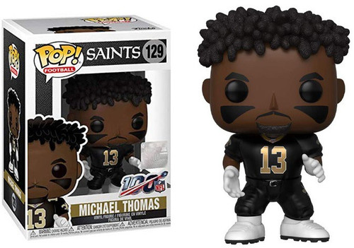 Funko NFL New Orleans Saints POP! Sports Football Michael Thomas Vinyl Figure #129
