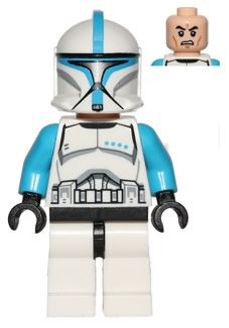 LEGO Star Wars Episode 2 Clone Trooper Lieutenant Minifigure [Loose]