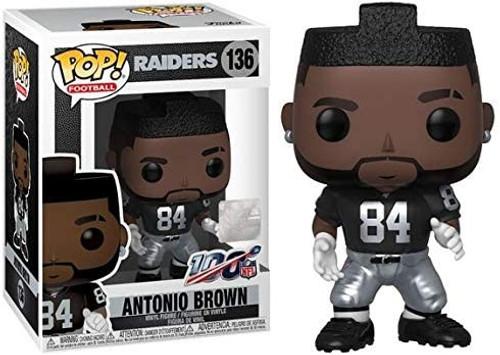 Funko NFL Oakland Raiders POP! Sports Football Antonio Brown Vinyl Figure [Home Jersey]