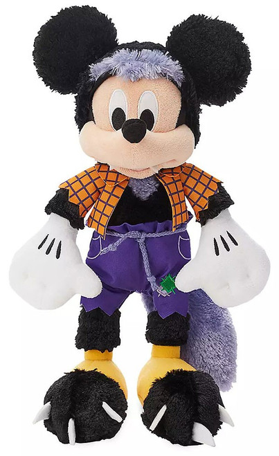 Disney 2019 Halloween Mickey Mouse Exclusive 13-Inch Plush [Werewolf]