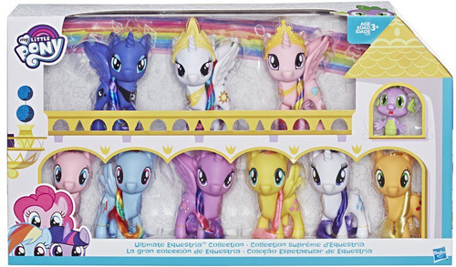 My Little Pony Ultimate Equestria Collection 6-Inch 10-Pack Figure Set