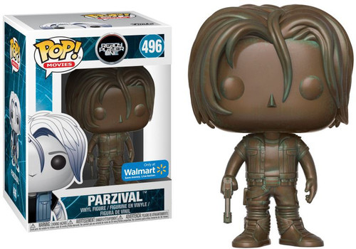 Funko Ready Player One POP! Movies Parzival Exclusive Vinyl Figure #496 [Antique, Damaged Package]